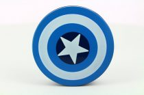 Captain America contact lens storage kit, Color: blue